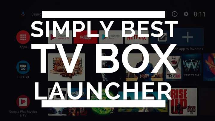 лаунчер для приставки Android TV Box