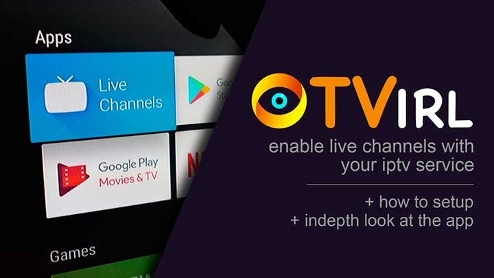 TVirl IPTV на Android TV