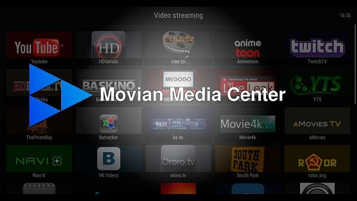 Movian Media Center