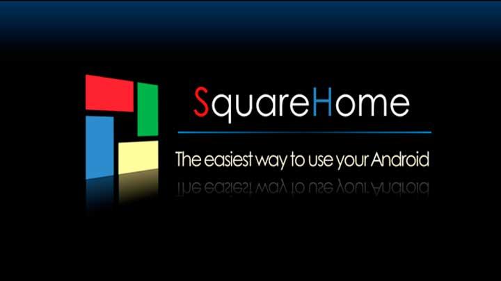 Square Home 3 Launcher