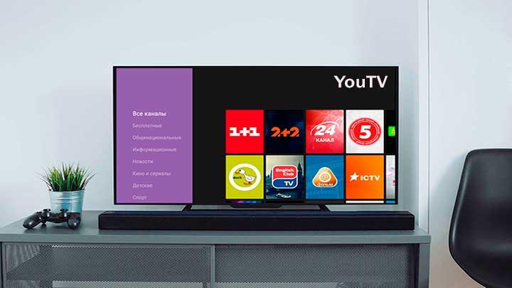 YouTV - украинское онлайн телевидение