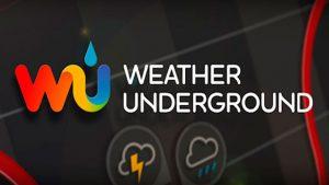 Weather Underground - прогноз погоды