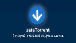 ZetaTorrent Pro