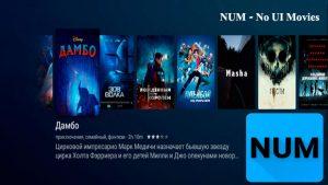 NUM - No UI Movies