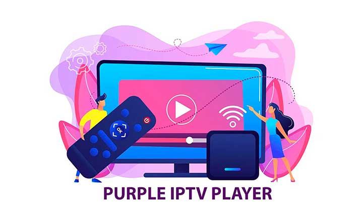 IPTV Smart Purple Player